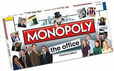 2007 Hasbro Monopoly The Office Collector's Edition Board Game Missing Tokens