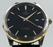 Tudor Style 12703 Stainless Steel & 18K Yellow Gold with Box & Papers