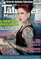 Tätowier Magazin 10/2009 Oktober,Musikinstrumente Motive,Leningrad Cowboys