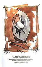 CLAES OLDENBURG Study For Standing Baseball Mitt and Ball ART PRINT 1976 Poster