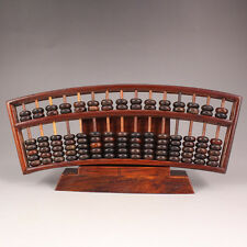 chinese red wood Hand-carved Antiquity Calculation Tools abacus An abacus RR360