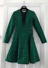 & OTHER STORIES vert émeraude Brodé Robe. UK 8. RRP £ 125