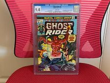 Ghost Rider #2 CGC 9.4 White Pages 1st App Daimon Hellstrom Witch-Woman