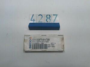10 Seco Carbide Inserts SEKN1203AFTN-M14 (4287)