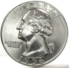 United States-USA (Quarter $ DOLLAR) 1956-UNC.