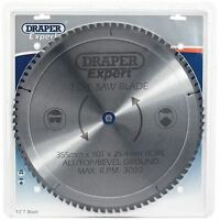 Draper Expert TCT Scie Lame 355x25.4mmx80t 09499