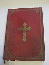 1912 MISSALE ROMANUM Buch, Kirchenbuch  in Leder gebunden RARITÄT Heiligenbuch