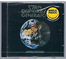 VAN DER GRAAF GENERATOR WORLD RECORD   CD F.C. SIGILLATO!!!