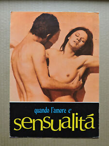 Ewa Aulin Agostina Belli Italian press brochure 1975 Quando l'amore è sensualità