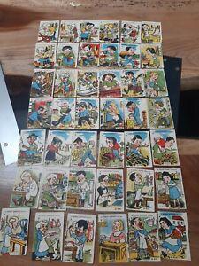 Ancien jeu de cartes des 7 familles métiers d'autrefois