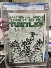 Teenage Mutant Ninja Turtles #4 CGC 9.4 1st Print TMNT Mirage Studios