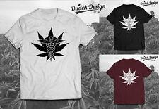 Médico cannabis T Shirt Dope 420 Wiz Humo Khalifa Unisex marihuana Nuevos Top
