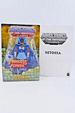 Masters of the Universe Classics Netossa MOC w/ mailer Filmation SheRa HeMan