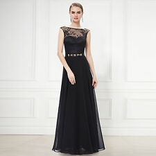 Evening Party Dress Formal Uk Prom Long Bridesmaid Cocktail Dresses Wedding Gown