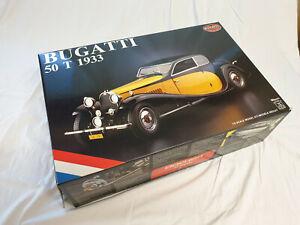 Maquette échelle 1:8 - BUGATTI   50T  1933