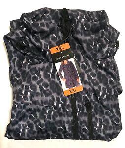 LUCKY BRAND Womens Rain Jacket Windbreaker Water Resistant Variety