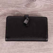 NWT Michael Kors ADELE Slim Bifold Pebbled Leather Wallet In Various Colors