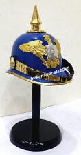 Armor German Pickle hub Prussian Helmet Brass Spiked Helmet Costume Gift