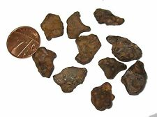 Agoudal IIAB Iron meteorite micromount individual specimen wholestone Morocco