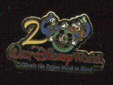 Celebrate The Future Hand in Hand 2000 Mickey, Donald, Goofy Disney Pin 3