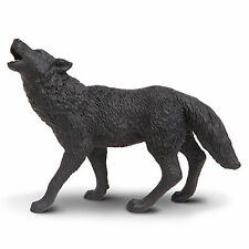 Black Wolf North American Wildlife Figure Safari Ltd NEW Toys Educational Kids