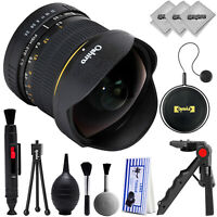 Oshiro 8mm f/3.5 High Definition Aspherical Fisheye Lens for Nikon DSLR Cameras