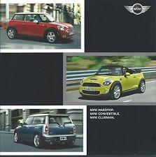 Auto Brochure - Mini - Cooper S Hardtop Convertible Clubman - c2009  (A1058)