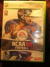 NCAA Football 08 (Microsoft Xbox 360 Live, 2007)