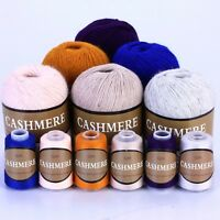 Best Quality Mongolian 100% Cashmere Hand-knitted Yarn Wool Thread Warm New