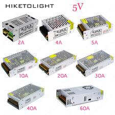 DC5V 2A-60A LED Driver Switch Power Supply Transformer for LED Strip AC110V 220V