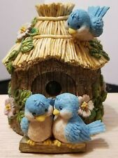 "Vintage Rare The San Francisco Music Box Co. Birdhouse Music Box 3.5"" X 4.5"""