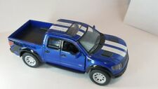 FORD 2013 F-150 ~ Blue ~ 1:46 ~ Opening Doors & Gate ~ Pull Back action ~ LOOSE