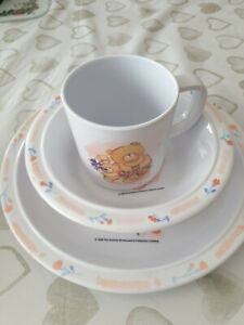 FOREVER FRIEND'S CHILDREN'S PLATE/BOWL/CUP