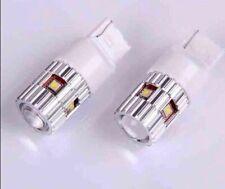 2X 25w HIGH POWER CREE LED 7440 T20 WHITE CANBUS REVERSE/BRAKE CAR LIGHT BULBS