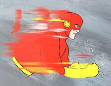1967 The Flash D.C. Super Heroes Original Art Storyboard Cel by Filmation