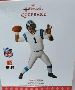 NFL Football Carolina Panthers Cam Newton Christmas Tree Ornament Legend Figure
