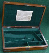 ANTIQUE CASE FOR A COLT 1860 ARMY PERCUSSION REVOLVER GUN.