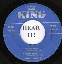 Sonny Thompson R&B EP (King 209) Mellow Blues/Sugar Cane/Long Gone/Real Fine