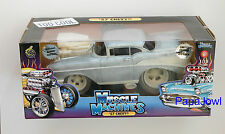 Muscle Machines Limited Raw 1 of 504 1957 Chevrolet 57 Chevy Hot Rod 1:18 Scale