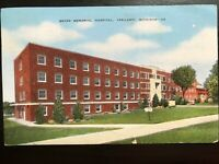 Vintage Postcard>1947>Beyer Memorial Hospital>Ypsilanti>Michigan