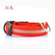 2018 Adjuatable LED Dog Cat Pet Collar Night Safety Bright Flashing Necklace Hot