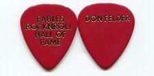 EAGLES 1998 Hall Of Fame Guitar Pick!!! DON FELDER custom concert stage Pick #3