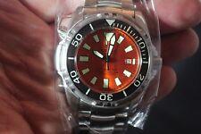 Deep Blue 49mm Depthmaster II 3000M Automatic Stainless Steel Bracelet Watch