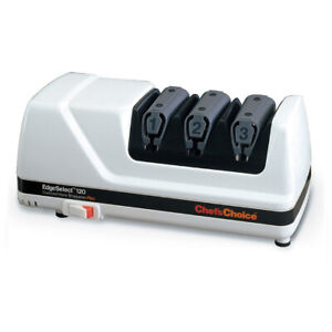 Chef's Choice Edge Select 120 Professional Electric Knife Sharpener White!