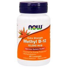 Now Foods, Methyl B-12, Extra Strength, 10,000 mcg, 60 Lozenges