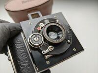 RARE! Korelle 3x4; ca 1931 Camera Germany Dresden with Lens Radionar 4,5/5cm