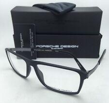 New PORSCHE DESIGN Titanium Eyeglasses P'8259 A 57-15 140 Matte Black Frames