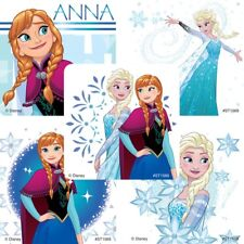 Anna and Elsa Stickers x 5 - Frozen Stickers - Birthday Party Supplies - Loot