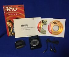 Vintage Diamond Rio Pmp300 32Mb Mp3 Player w/Orig Manual Software Earbuds Bundle