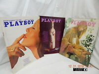 PLAYBOY-VINTAGE ISSUES-YEAR: 1972-MONTHS: FEB; MAR; APR-PREVIOUSLY OWNED-AS IS!